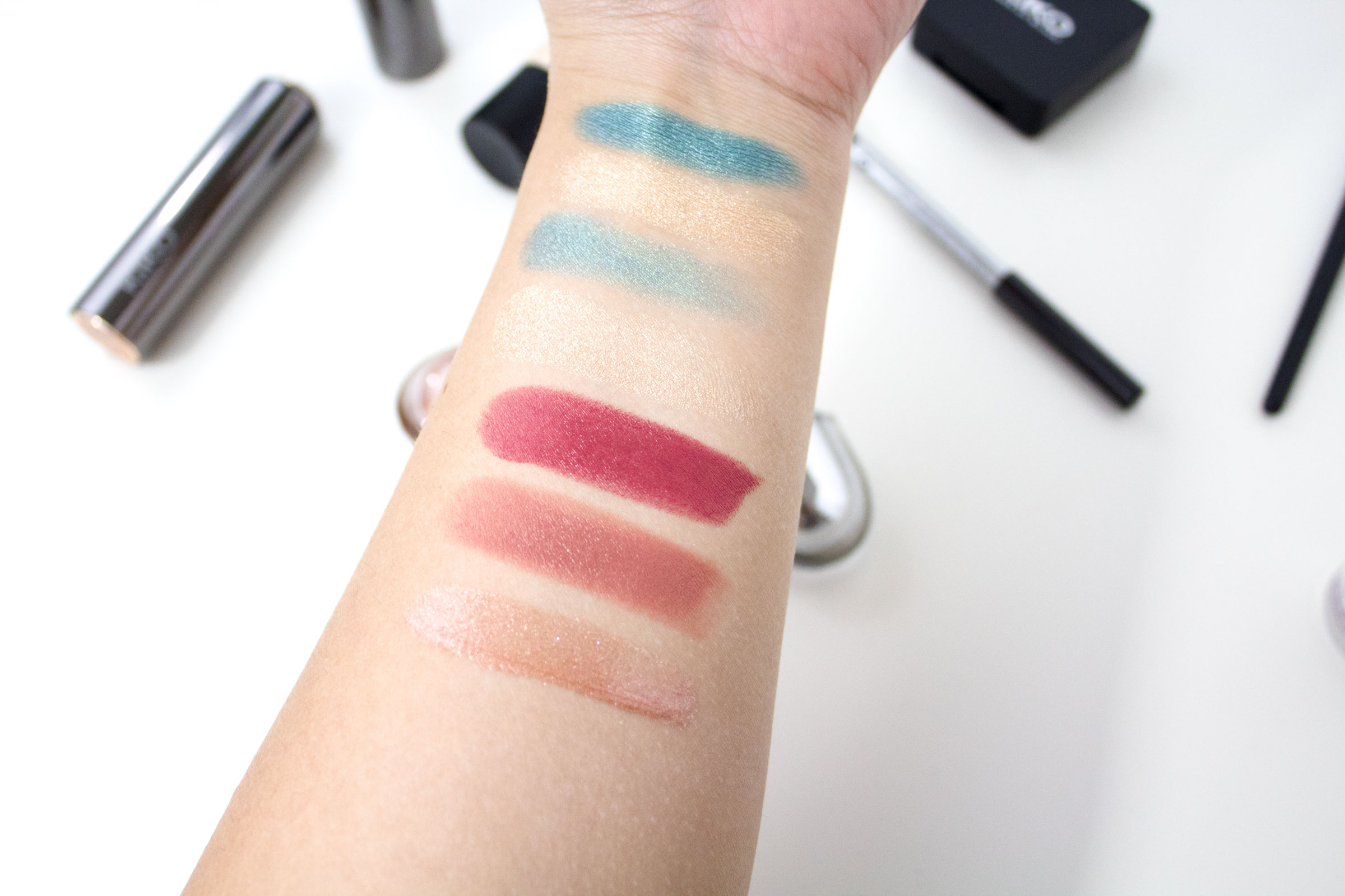 best of kiko milano swatches