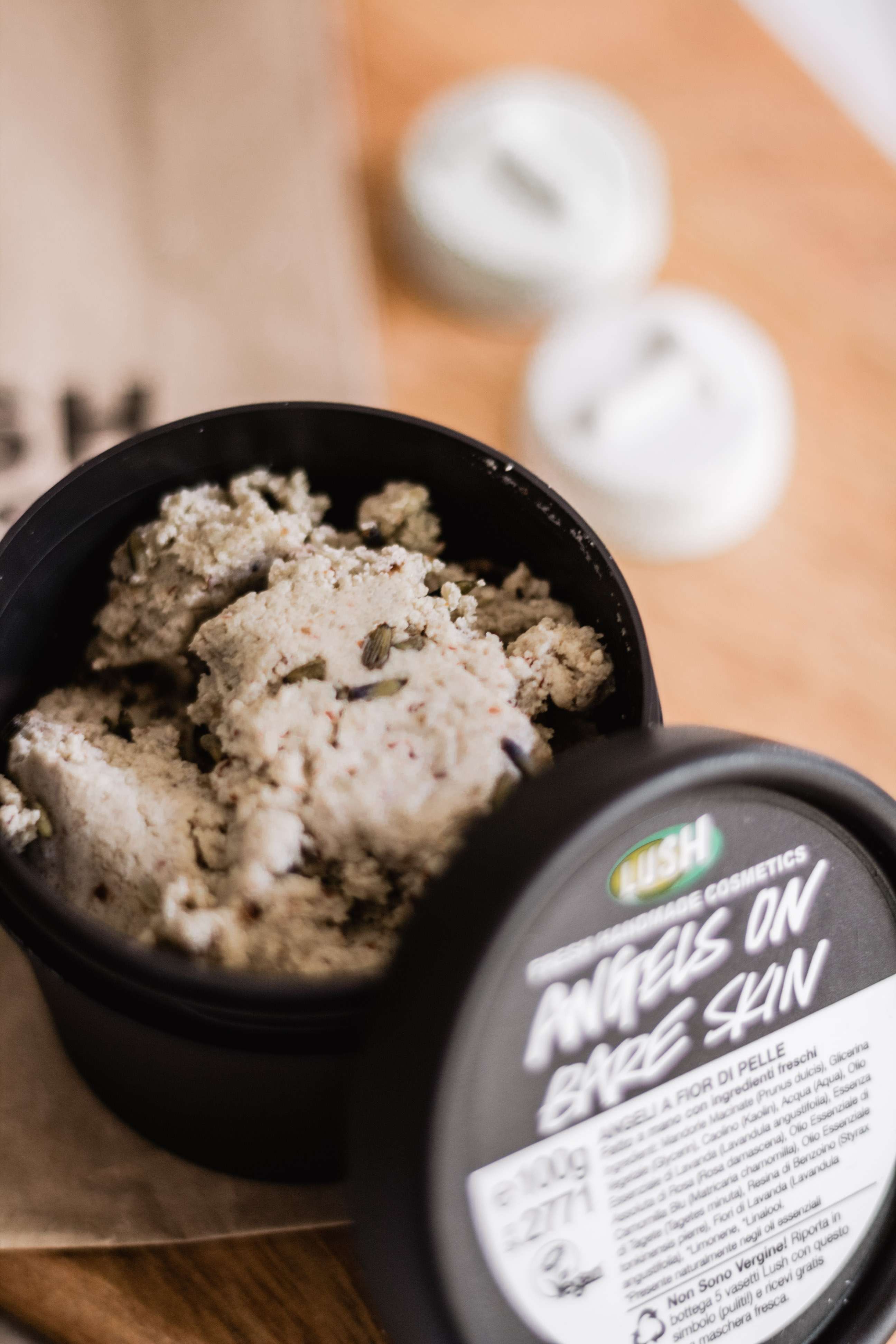 Lush Haul Angels on Bare Skin Cleanser