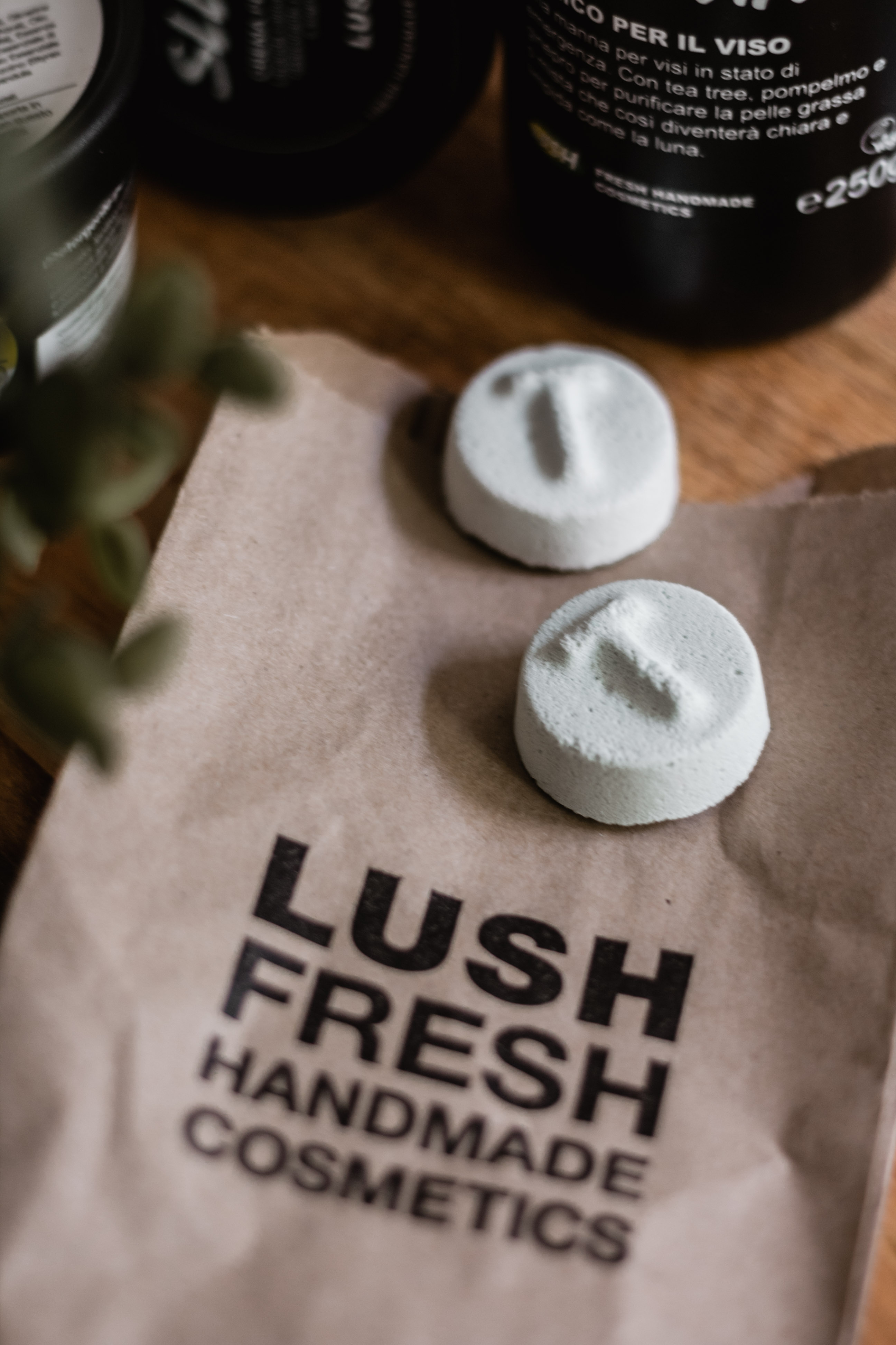 Lush Haul - Tea Tree Toner Tabs