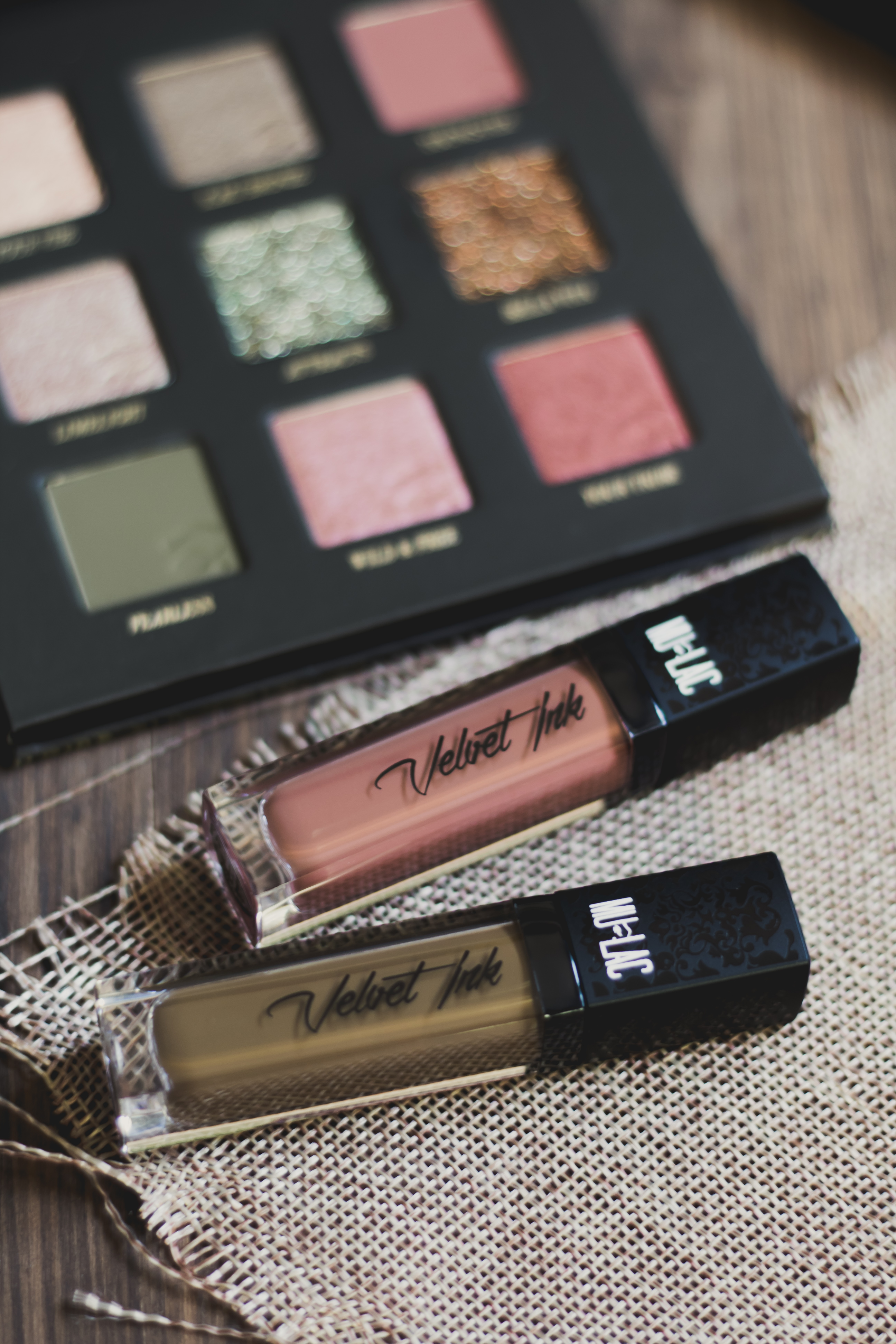 MULAC BRAVE COLLECTION BELLA VITA, YOUNG & BRAVE HEROLIKE NUDE VELVET INK LIPSTICK