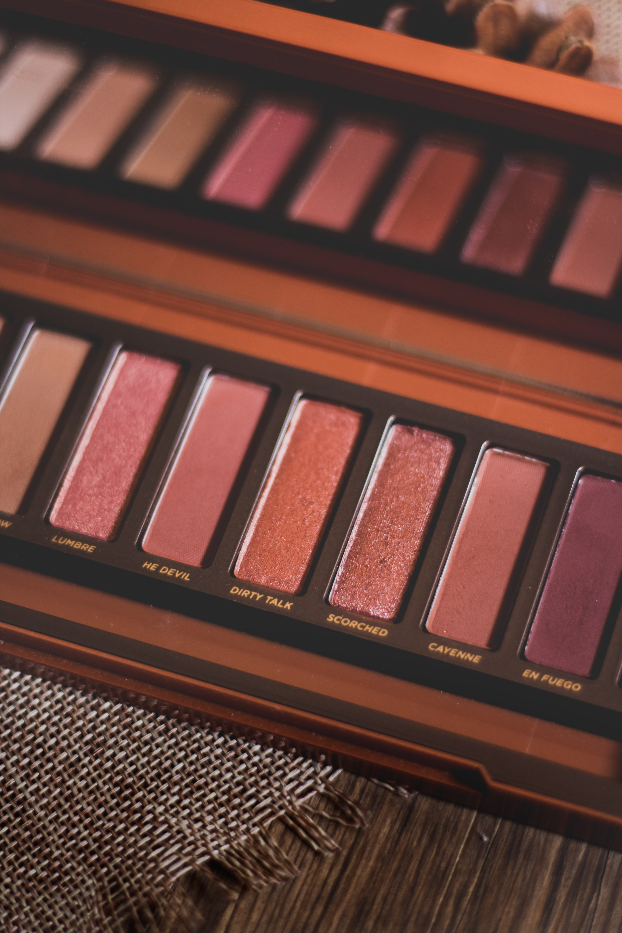3 Fall Palettes: Urban Decay Naked Heat Palette