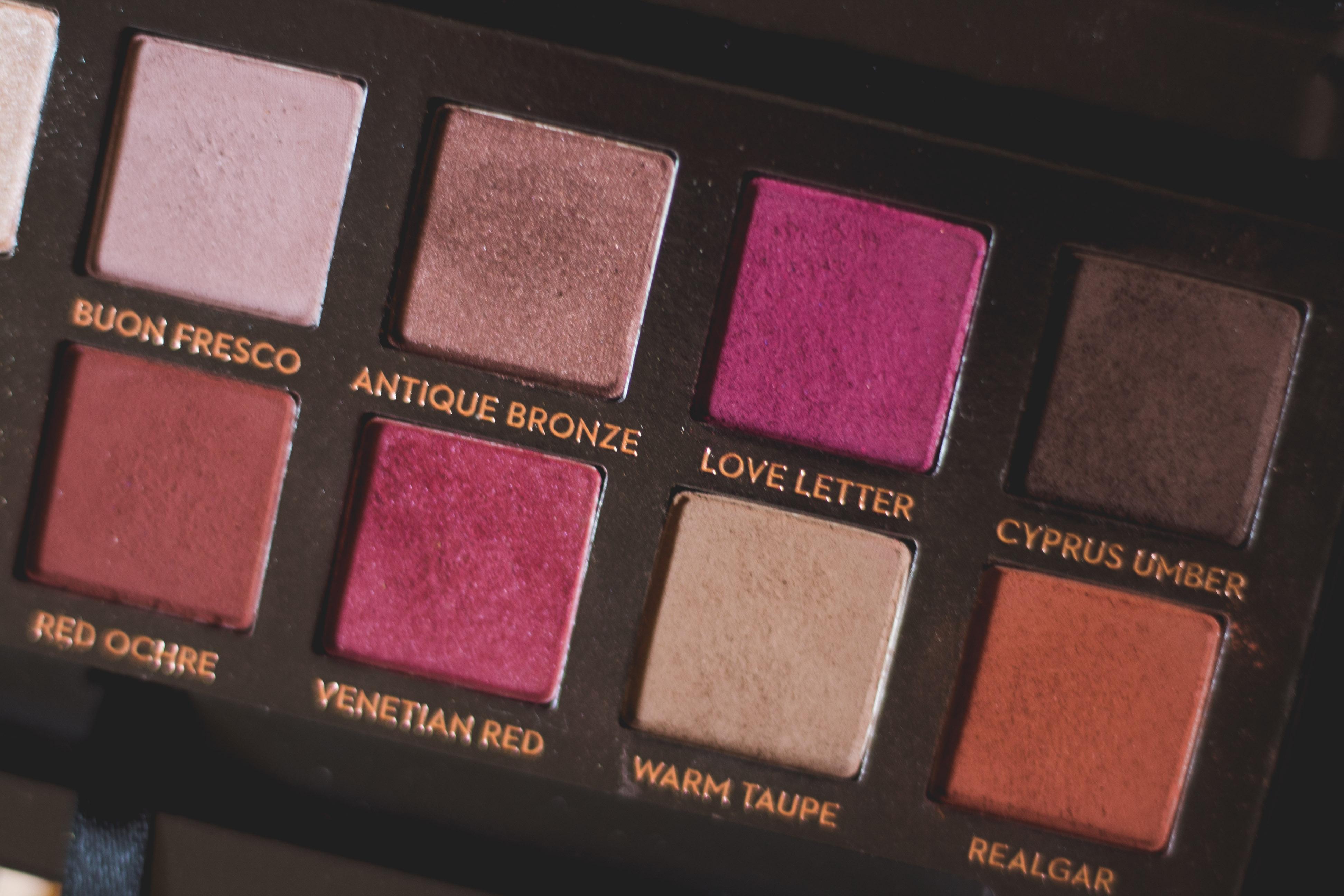 3 Fall Palettes: Anastasia Beverly Hills Modern Renaissance Palette